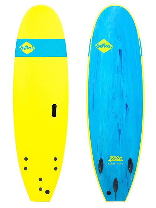 """SOFTECH Ice Yellow Roller 6'6"""""""
