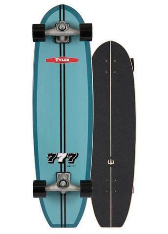 "2020 | Carver C7 Raw 36.5"" Tyler 777 Surfskate Complete"