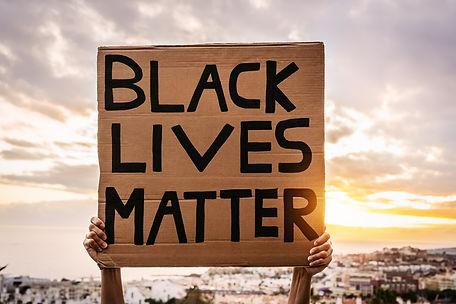 Black lives matter banner - Activist mov