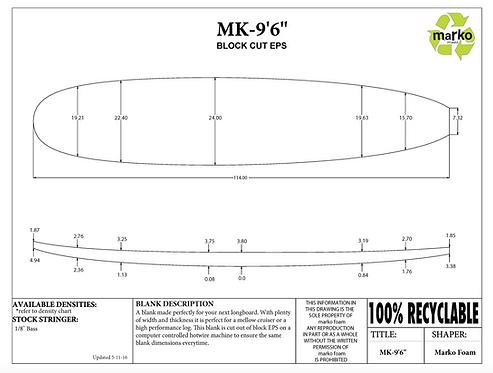 9'6 MK MARKO FOAM