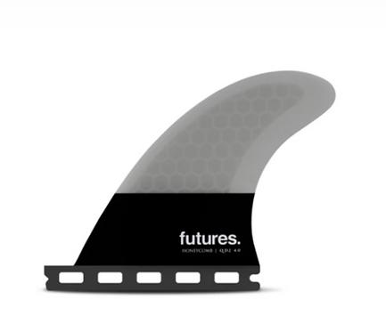 FUTURES QD2 4.0 FLAT HC QUAD REAR FIN PAIR