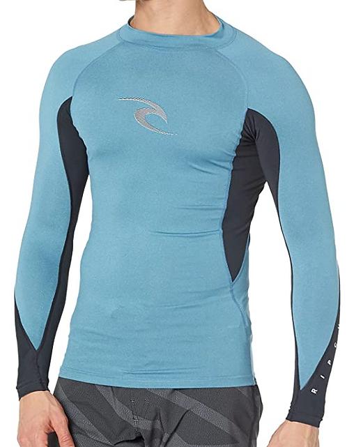 Rip Curl Waves Performance Long Sleeve UV Rashguard