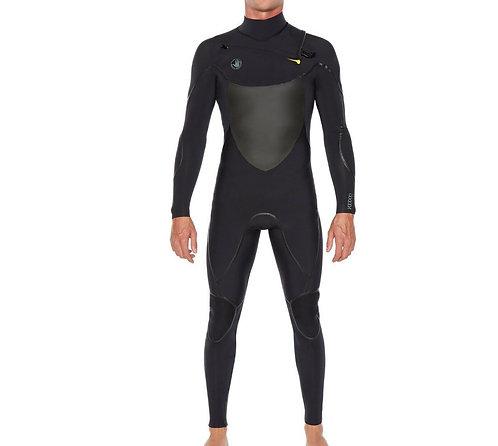 BODY GLOVE 3/2 VOODOO Slant Zip Wetsuit- SIZE XL Short