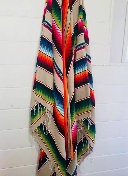 Baja Shores Throw Blanket
