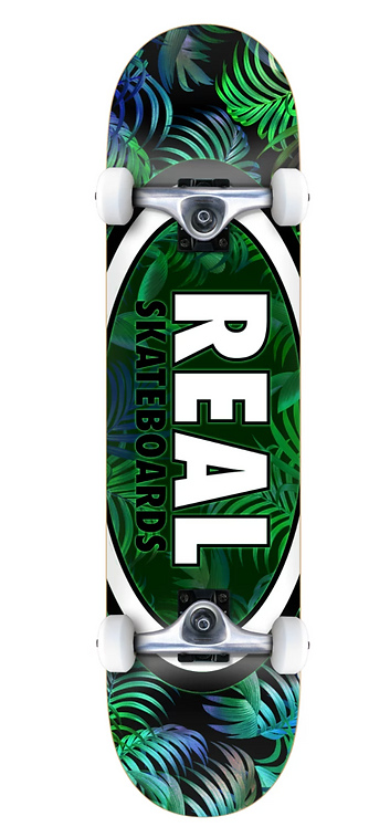 REAL Skateboards Oval Leave Green