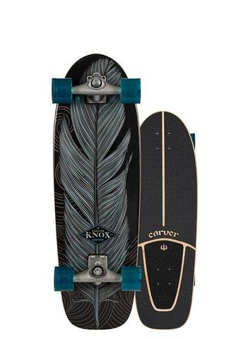 "2020 | Carver C7 Raw 31.25"" Knox Quill Surfskate Complete"