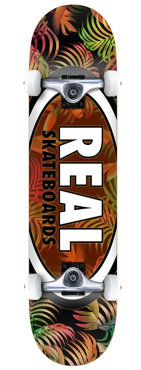 REAL Skateboards Oval Leave Orange
