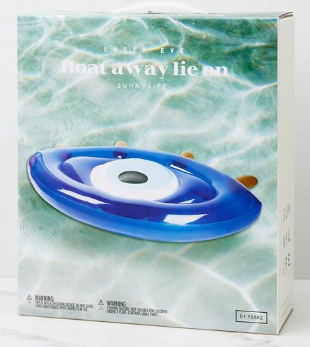 Float Away Greek Eye Lie On