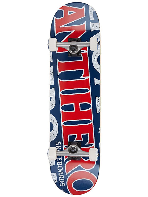 Anti Hero Skateboards 8.25 Complete Red White Blue