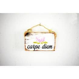 """Carpe Diem"" Handmade Wall Decor"