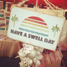 """""""Have A Swell Day"""" Handmade Wall Decor"""