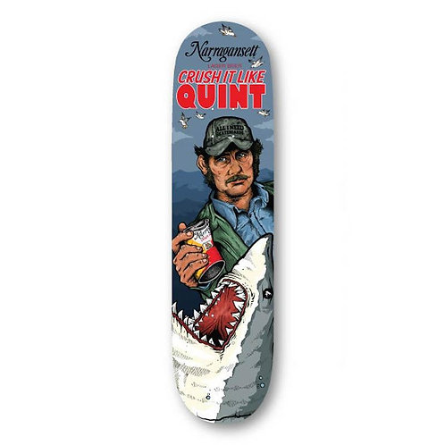 """ALL I NEED Skateboards 8.5"""" Crush It Like Quint Deck"""