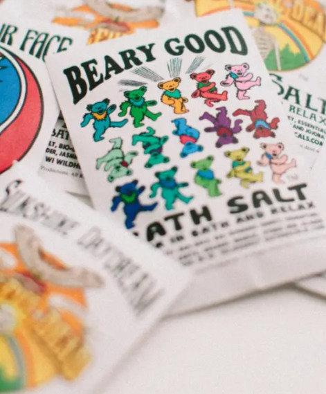 BATH SALT GRATEFUL DEAD- BEARY GOOD