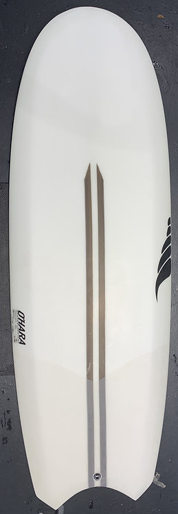 """SOLID SURFBOARDS- CLEAR BENTO BOX (5'3"""")"""