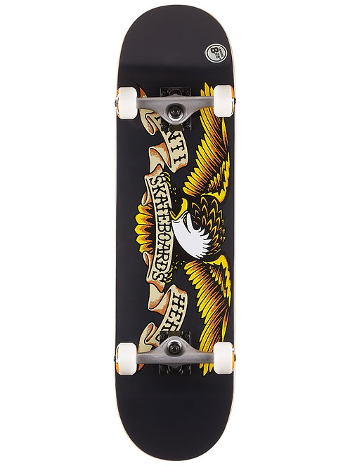 Anti Hero Skateboards Complete 8.25 Black