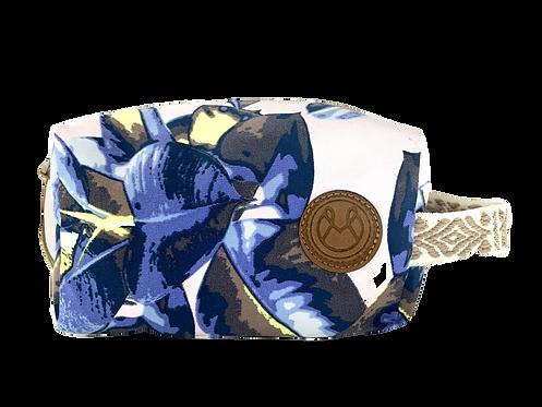 MAAJI MAKEUP BAG- BLUE FLORAL