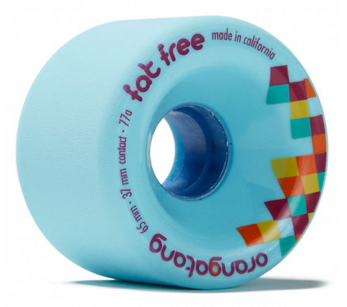 Orangatang Fat Free 65mm 77a Blue