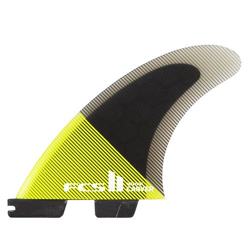FCS II CARVER PC TRI FINS- LARGE