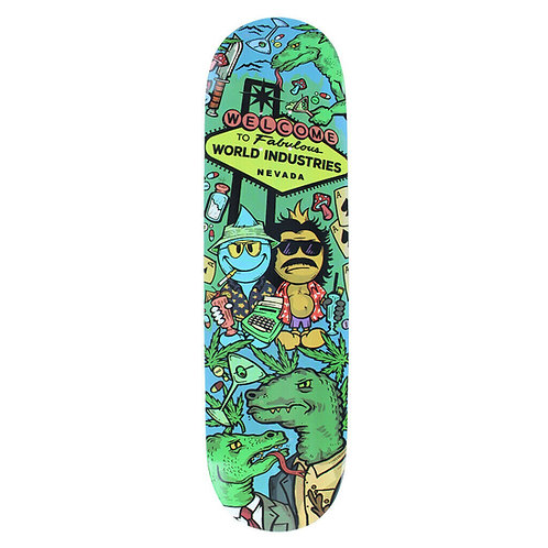 World Industries Fear and Loathing Deck