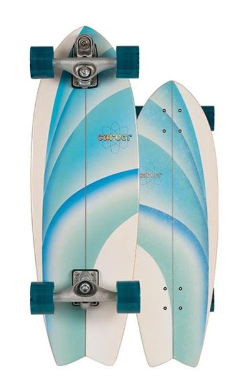 "2020   Carver C7 Raw 30"" Emerald Peak Surfskate Complete"