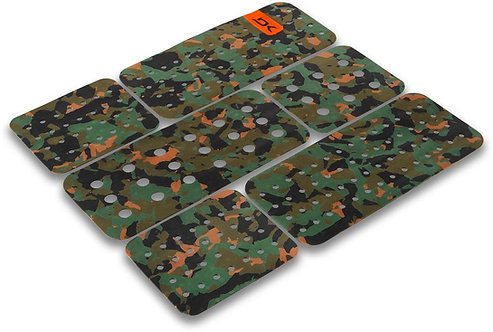 Dakine Front Foot Traction Pad-Olive Camo