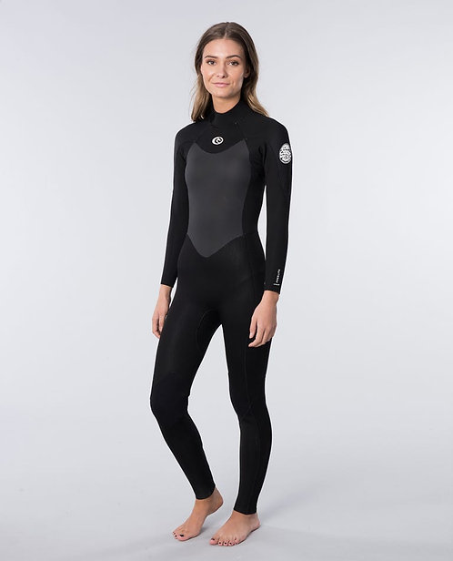 Women's RipCurl OMEGA Back Zip 4/3mm SIZE 12