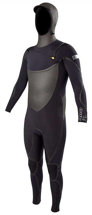Body Glove Voodoo Hooded Slant Zip 5/4mm SIZE XLS