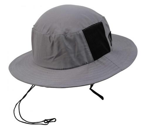 CREATURES OF LEISURE Surf Bucket Hat – Light Grey, Size S/M
