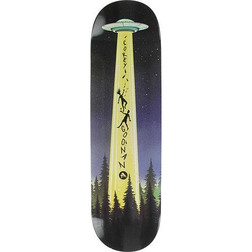 All I Need Skateboards Corey Goonan Abduction Skateboard Deck