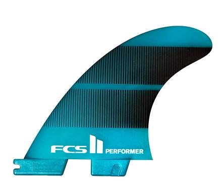 FCS II PERFORMER NEO GLASS TRI FINS - LARGE