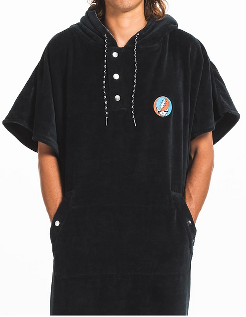 The Digs Changing Poncho - Grateful Dead - L/XL