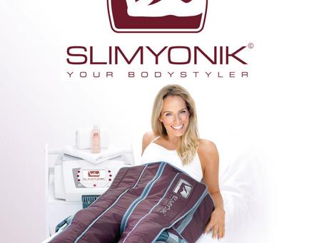 Mit Slimyonik® Beine massieren lassen!
