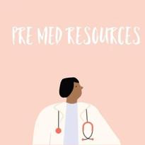 Pre-Med Resources
