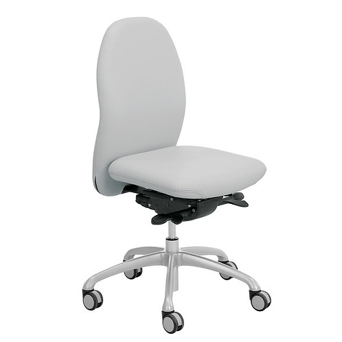 """TANGO"" work chair, light grey"