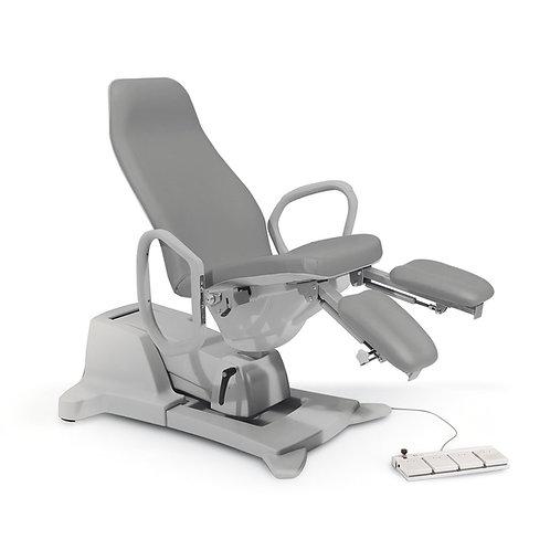 """Chiropody chair """"Podo Slinder"""" light grey"""