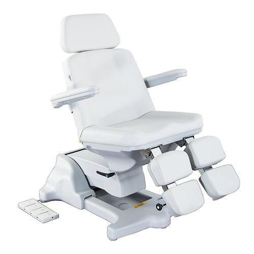 "Chiropody chair ""MAXIMA HIGH III"" light grey"