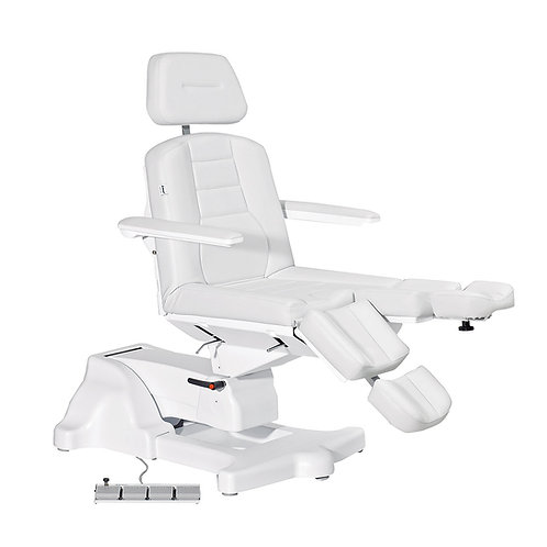 "Chiropody chair ""MAXIMA HIGH II"" light grey"