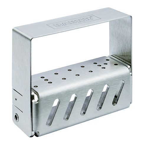 Empty metall cutter block for up to 17 cutters