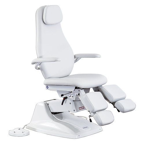 "Chiropody & Pedicure chair ""PENTA"" light grey"