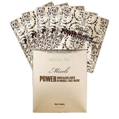 Misoli Gold Hydrogel Facial Mask
