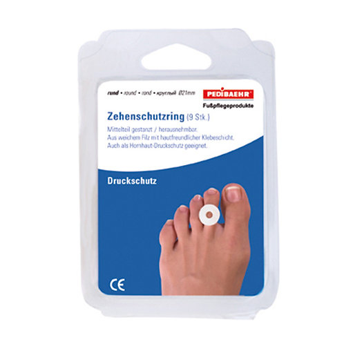 Toe protection rings (round)