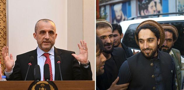 Deux chefs pour la résistance armée afghane
