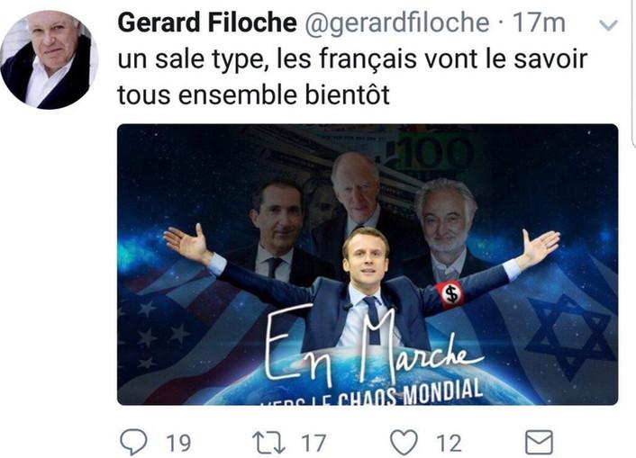 Gérard Filoche, antisémite à l'insu de son plein gré ?