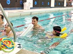 Summer camp swim