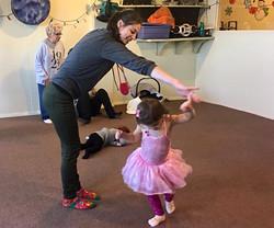 Dancing Twirling