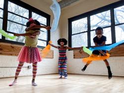dance kids masks