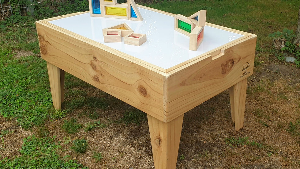Light Table with reversible play top