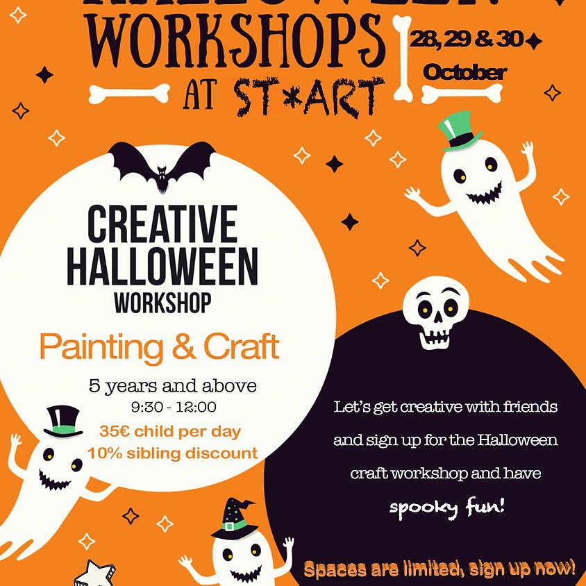 CREATIVE HALLOWEEN WORKSHOP day 29th