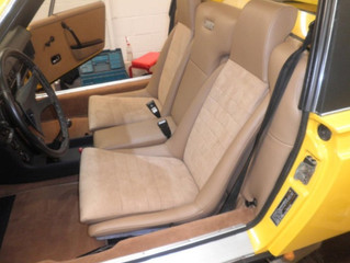 Porsche 914 interior brought back from the brink