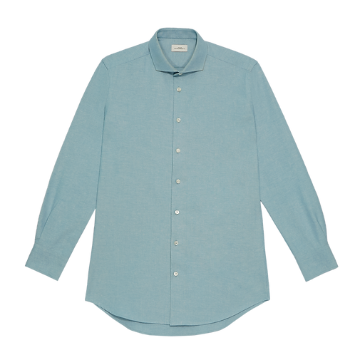 TAILORED SIGNATURE CHAMBRAY SHIRT